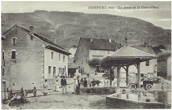 Photo carte postale avant 1922 Confort